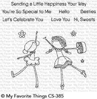 Clear Stamps - Sweet Besties
