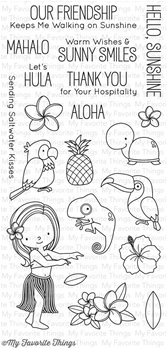 Clear Stamps - Polynesian Paradise