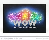 Clear Stamps - Fireworks