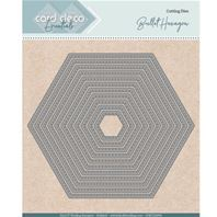 Die - Card Deco Essentials - Hexagon stitched