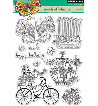 Clear Stamps - Touch of whimsy