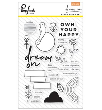 Clear Stamp Set - Dream On