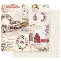 Papier - Christmas in the country - Christmas Joy