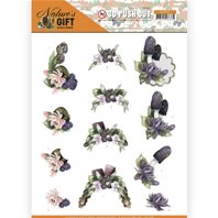 Papier 3D - Nature's Gift - Purple Gift