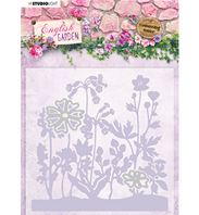 Cut & emboss Folder - English Garden - Herbes folles