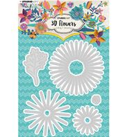 Cutting die - 3D Flowers - 178