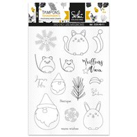Clear Stamp -Moments d'hiver - HO OH Les mignons