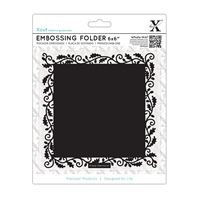 Embossing Folder - Oak border