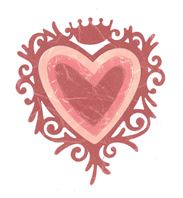 Framelits - Frame Heart with Crown