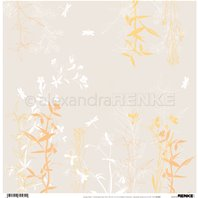 Papier - Autumn Plants Beige