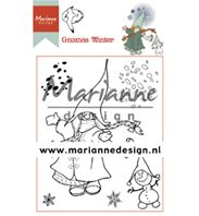 Clear Stamp - Gnomes Winter