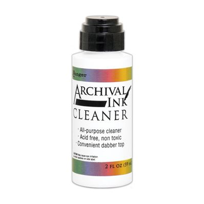 Archival ink - Cleaner