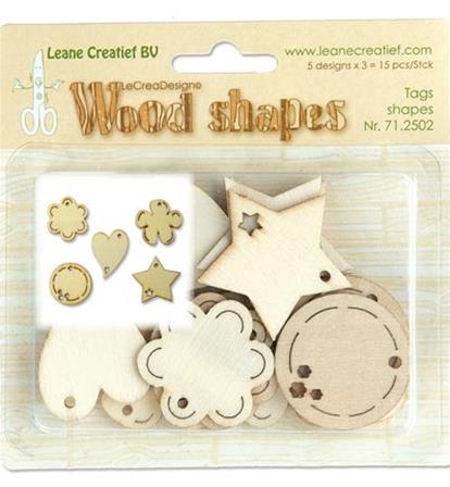 Wood Shape - Tags