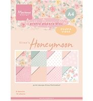 Pretty papers bloc - A4 - Honeymoon