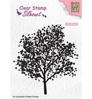Clear stamp - Silhouet - Tree