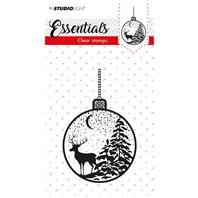Clear stamps - Essentials - Boule de Noël