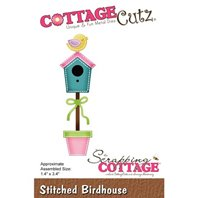 Cottage Cutz - Stitched Birdhouse