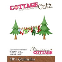 Cottage Cutz - Elf's clothesline