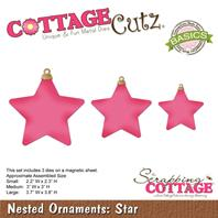 Cottage Cutz - Nested Ornaments Star