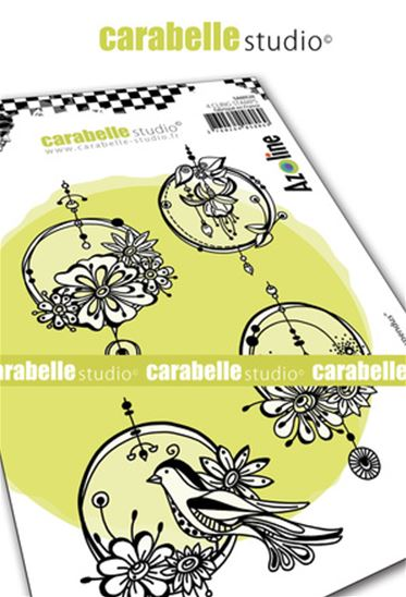 Cling Stamp - Cercles suspendus