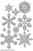 Die-namics - Stylish Snowflakes