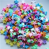 pour vos shaker box - Multicolored stars