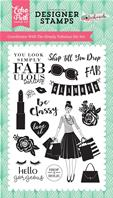 Clear stamp - Simply Fabulous