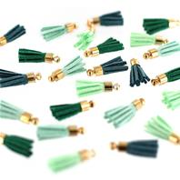 Mini pompons - Soft&Green