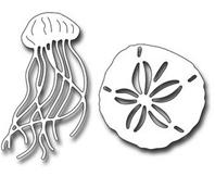 Die - Sand Dollar & Jellyfish
