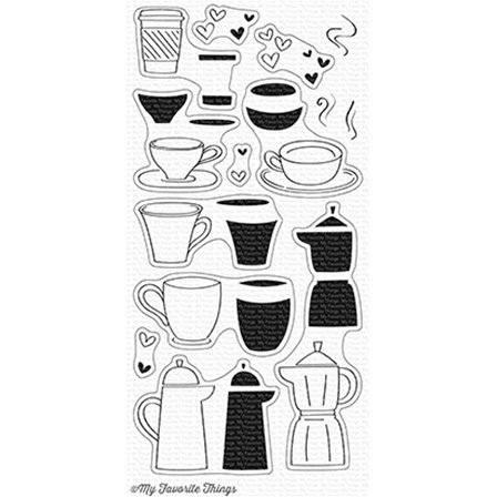 Clear Stamps - Coffee Date