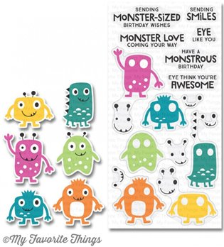 Clear Stamps - Monster Love