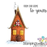 Stamp - Bella's Exclusive Images - Gingerbread House