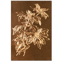 Embossing folder 3D - Poinsettia
