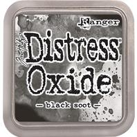 Encre Distress Oxide - Black Soot