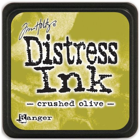 Mini Distress Pad - Crushed Olive