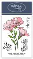 Clear Stamp - Meadow Flowers