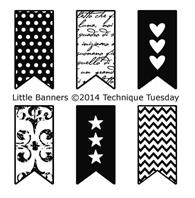 Clear Stamp - Little Banners