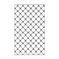 Mini Embossing Folder - Floral Lattice