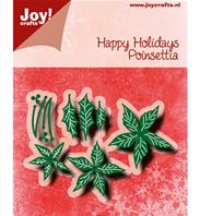 Die - Happy Holidays -Poinsettia