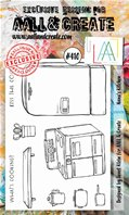 Clear Stamps-A6-#410-Nana's kitchen