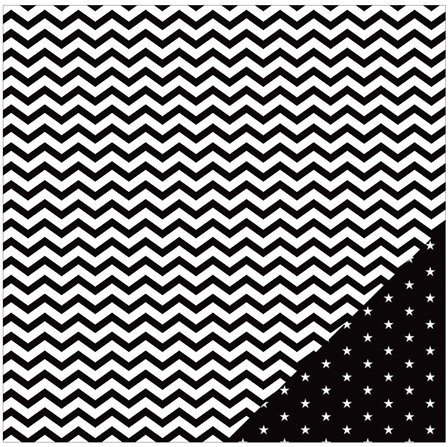 Papier - Basics - Black Chevron