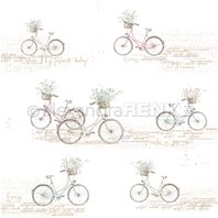 Papier - Flower bicycles