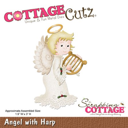 Cottage Cutz -Angel with Harp