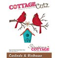 Cottage Cutz - Cardinals & Birdhouse