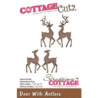 Cottage Cutz - Deer With Antlers