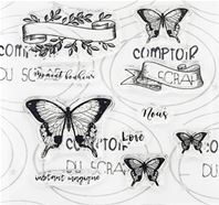 Clear stamps - Moment bonheur