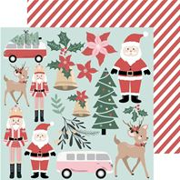 Papier - Peppermint Kisses - Santa & Co