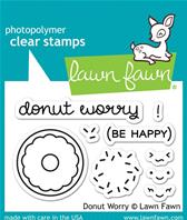 Tampons transparents - Donut Worry
