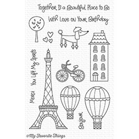 Clear Stamp - In Paris