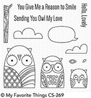 Clear Stamps - Owl My Love